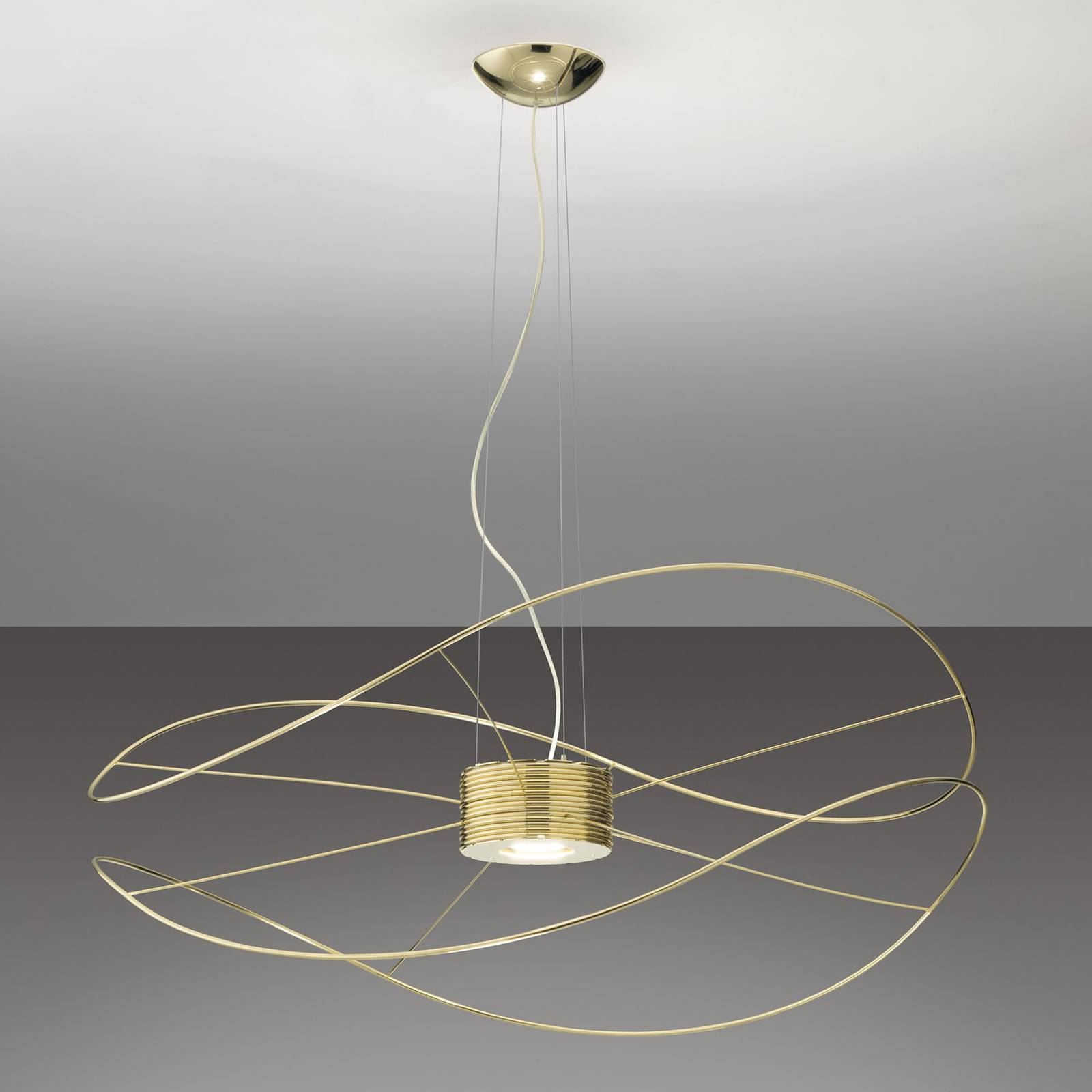 Hoops 2 -LED-riippuvalaisin, kulta