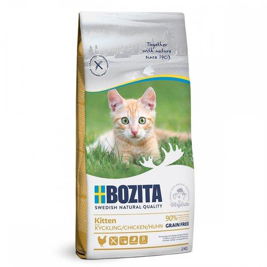 Bozita Kitten Grain Free Kyckling (2 kg)