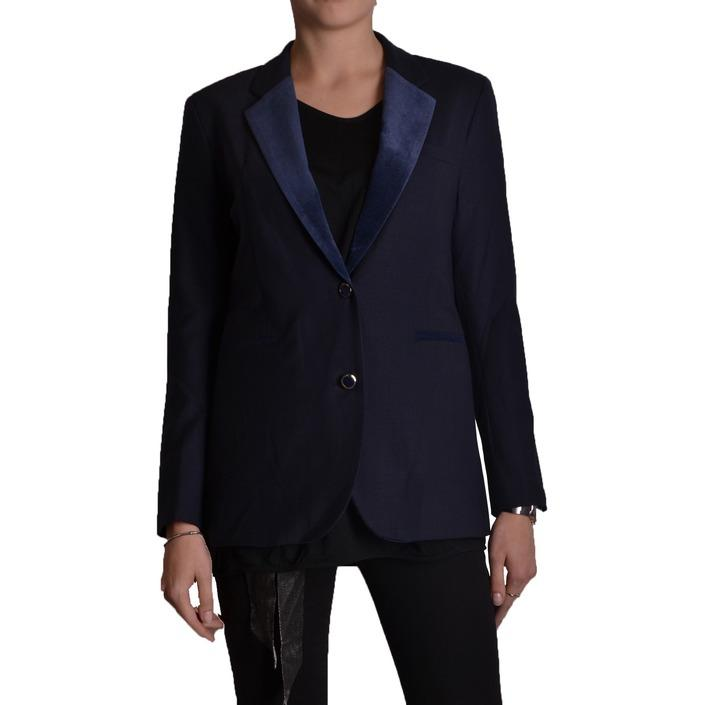 Jacob Cohen Women's Blazer Blue 162417 - blue 40