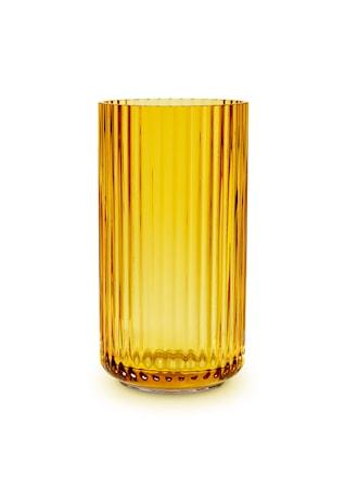 Lyngby Vas Amber Munblåst Glas H15,5 cm