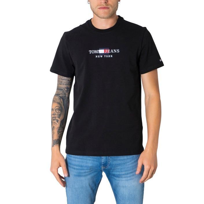 Tommy Hilfiger Jeans Men's T-Shirt Various Colours 305372 - black XS