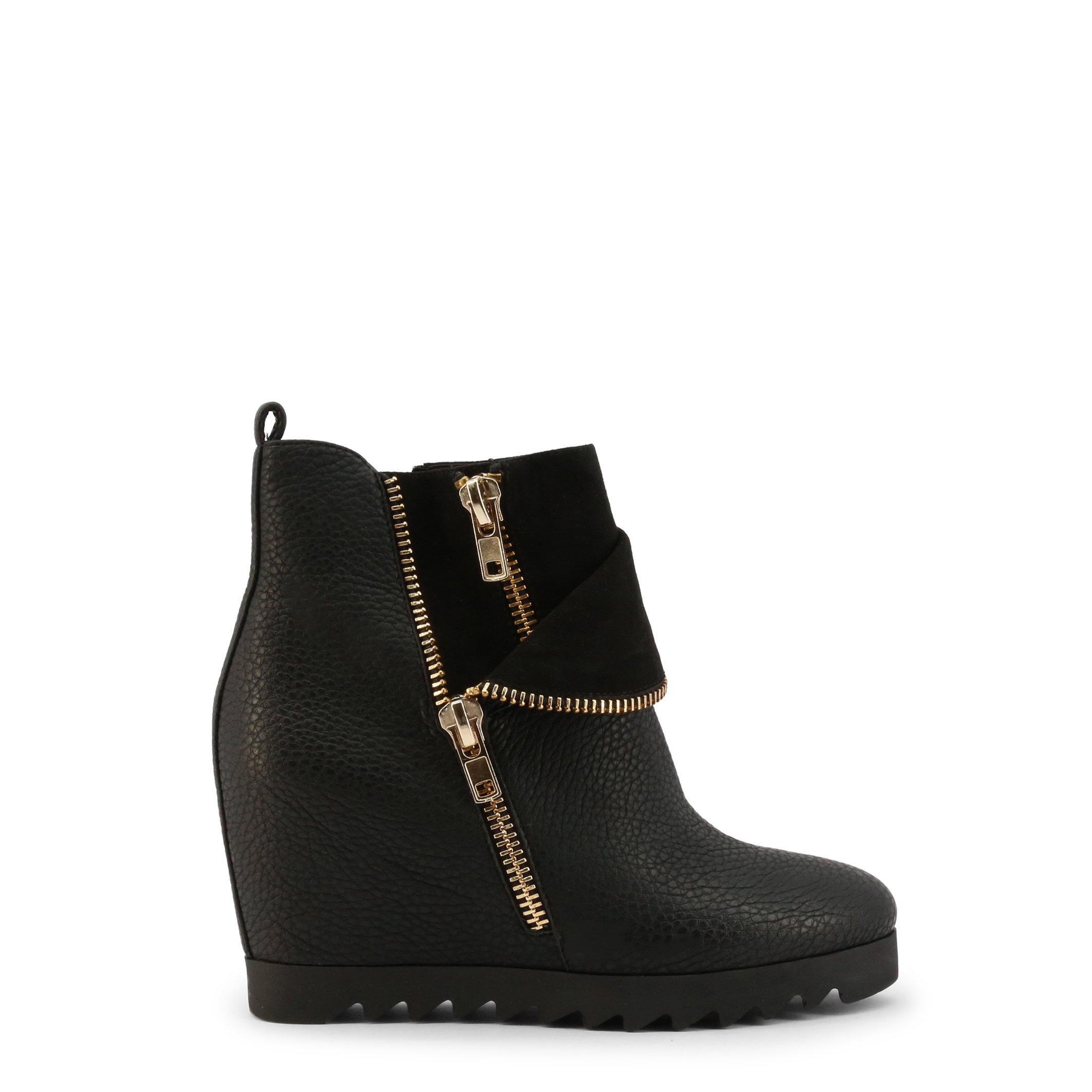 Roccobarocco Women's Ankle Boot Blue ROSC0VY01 - black EU 37
