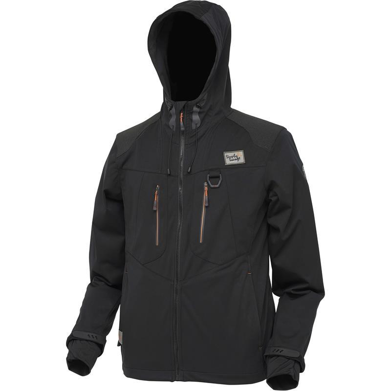 Savage Gear Simply Savage Jacket S Softshell - Black