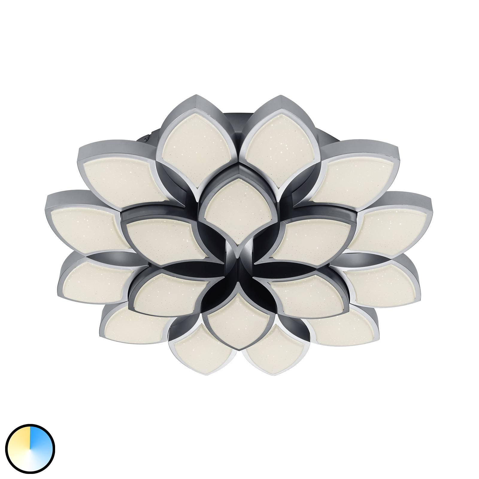 B-Leuchten Rose LED-taklampe, 65 cm