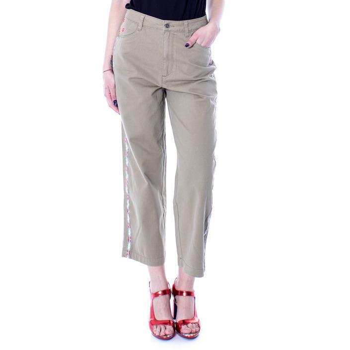 Desigual Women's Trouser Green 167111 - green 38