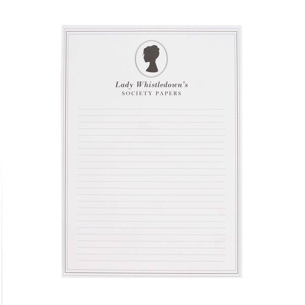 Lady Whistledown's A5 Notepad