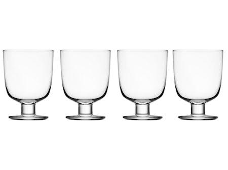 Lempi glass 34 cl klar 4-pakk