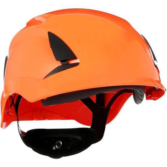 3M SecureFit X5507NVE Suojakypärä Ilmastoimaton, 1000 V Oranssi