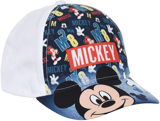 Disney Mikke Mus Caps, White, 52