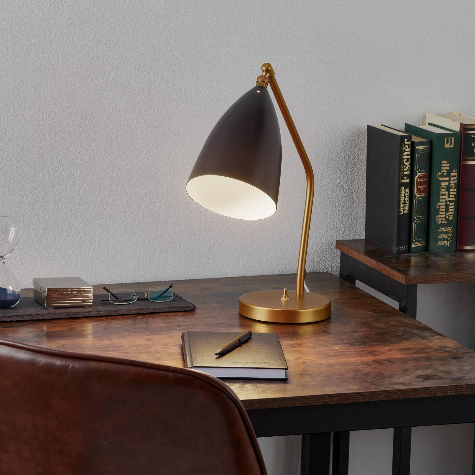 GUBI Gräshoppa bordlampe, svart
