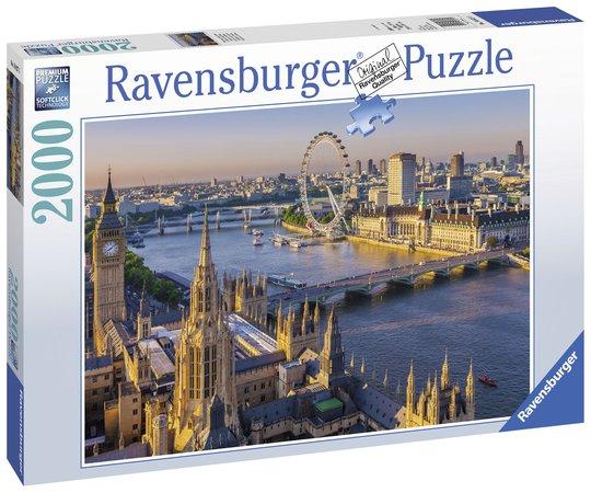 Ravensburger Puslespill London 2000 Biter