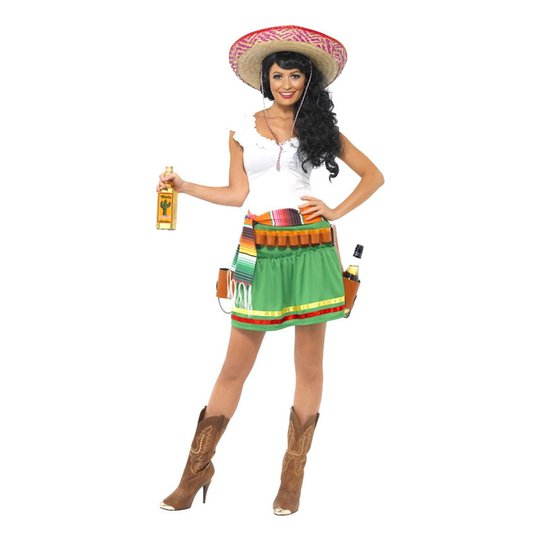 Tequila Girl Maskeraddräkt - Small