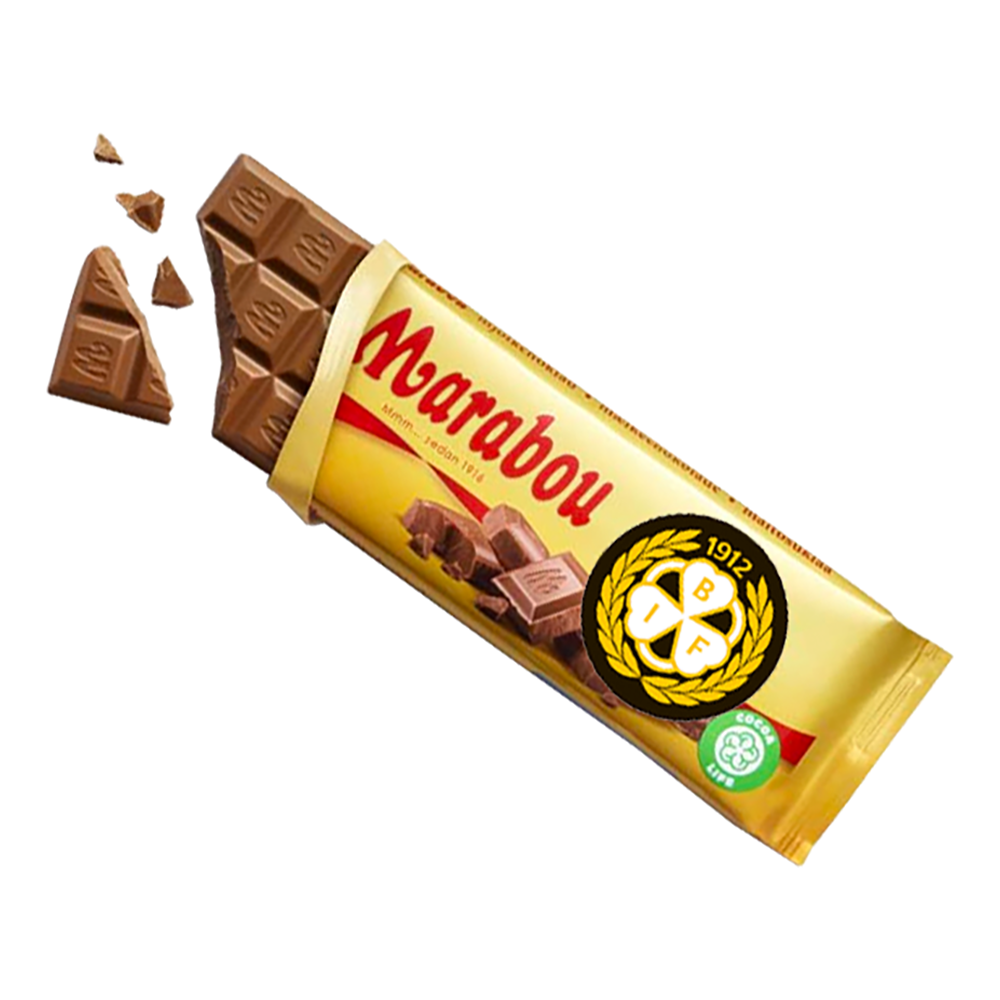Brynäs Chokladkaka - 100 gram