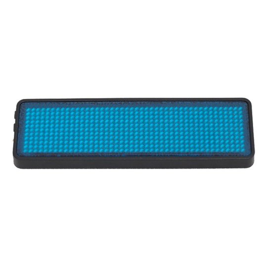 LED Namnbricka - Blå