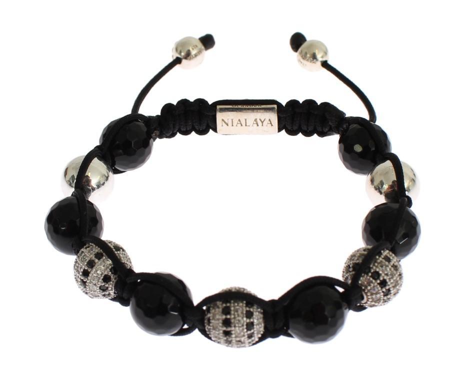 Nialaya Women's CZ Bracelet Silver SIG19025 - S