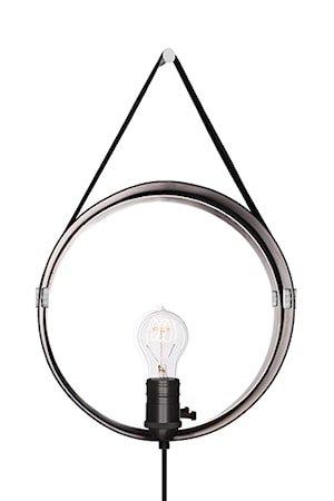 Vegglampe Hangover Svart / Krom