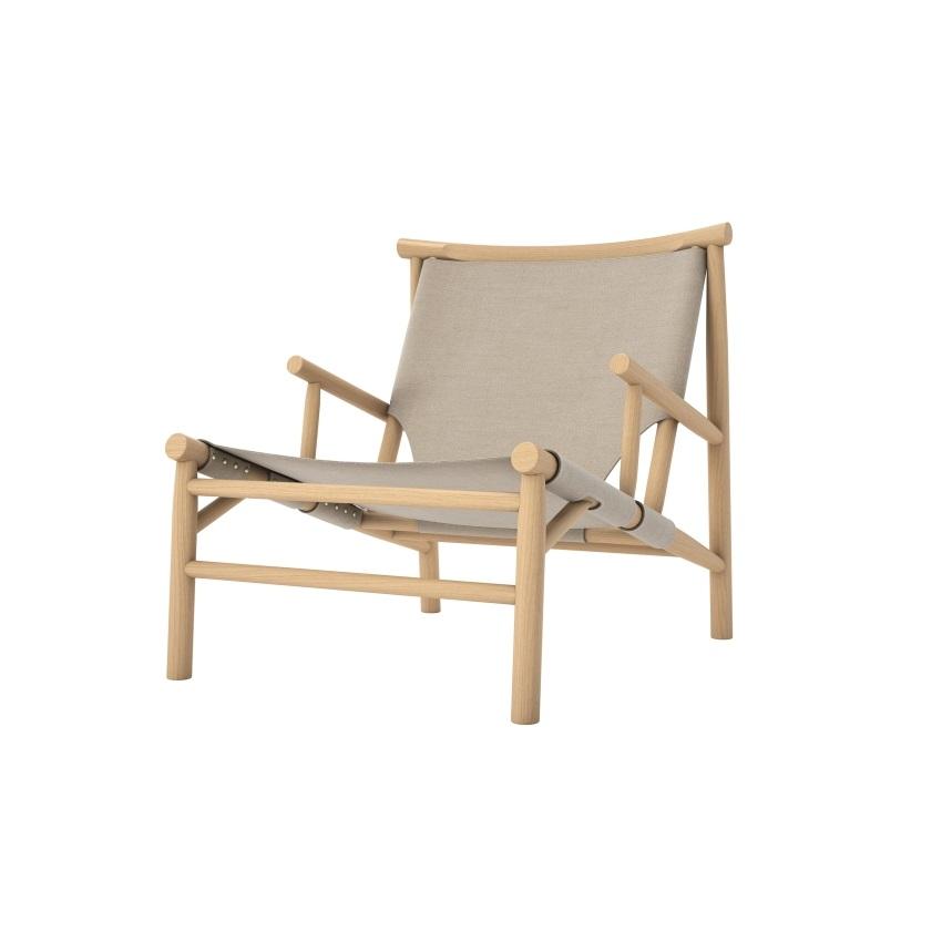 Lounge stol Samurai Chair - Canvas, Norr11
