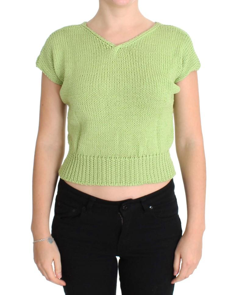 Pink Memories Women's Knitted Sweater Green SIG30267 - One Size