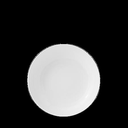 Rhombe Coupe Tallerken Ø20 cm Hvit Porselen