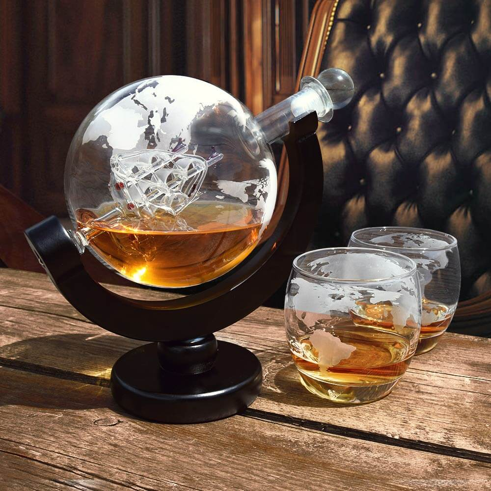 Globe Decanter Set (04976)