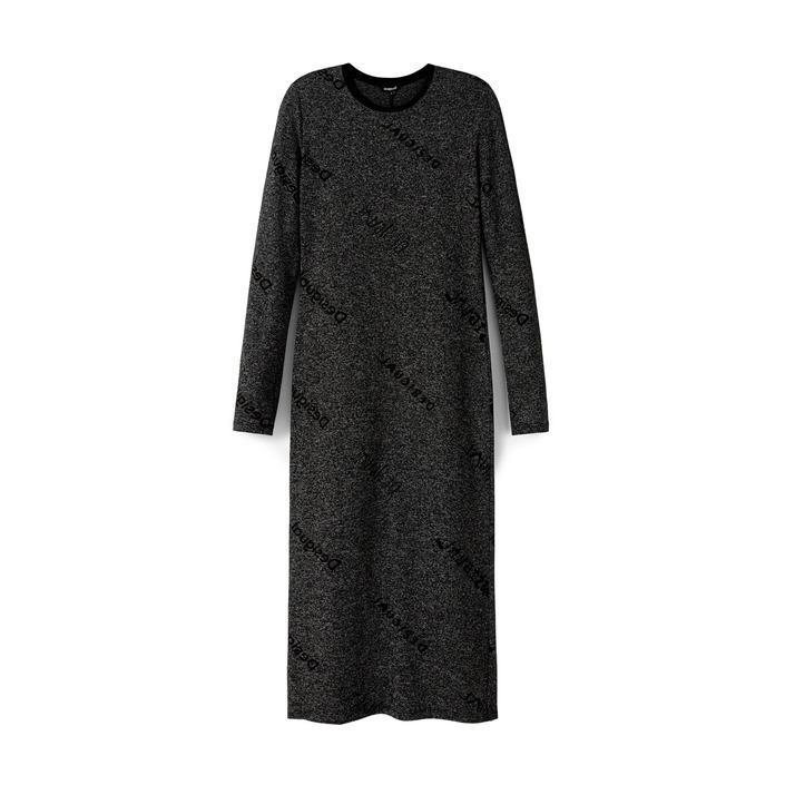 Desigual Women's Dress Grey 179241 - grey XS