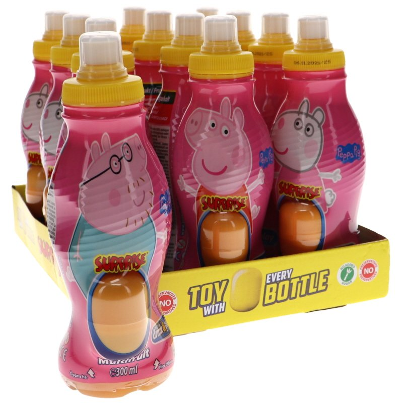 Fruktdryck Pepa-Pig 12-pack - 25% rabatt