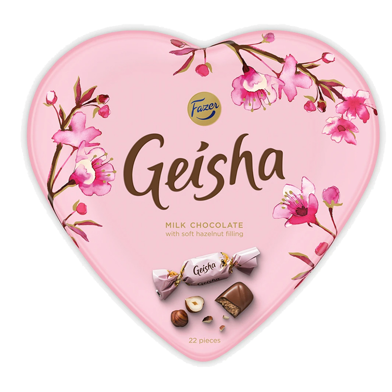 Geisha Suklaakonvehdit - 91% alennus