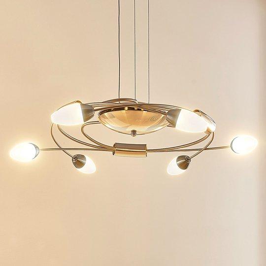 LED-riippuvalaisin Deyan, 6-lamppuinen