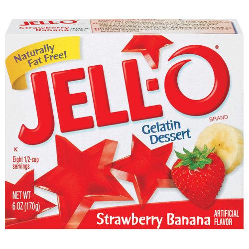 Jello Strawberry-Banana 85g