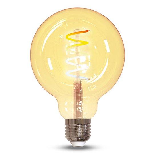 Müller Licht tint LED-globepære G95 E27 5,5W gull