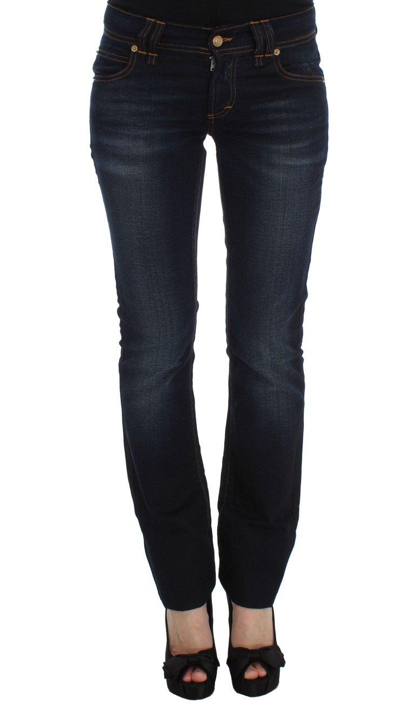 John Galliano Women's Cotton Slim Fit Jeans Blue SIG30164 - W26