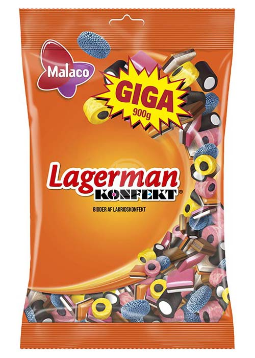 Malaco Lagerman 900g
