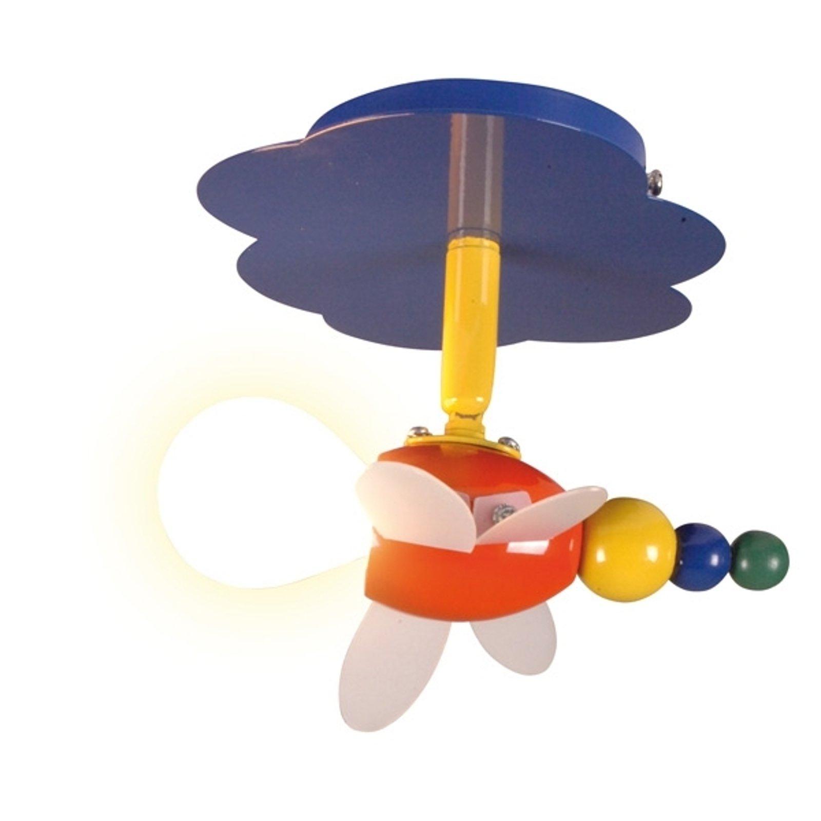 Leken taklampe Fly, 1 lys