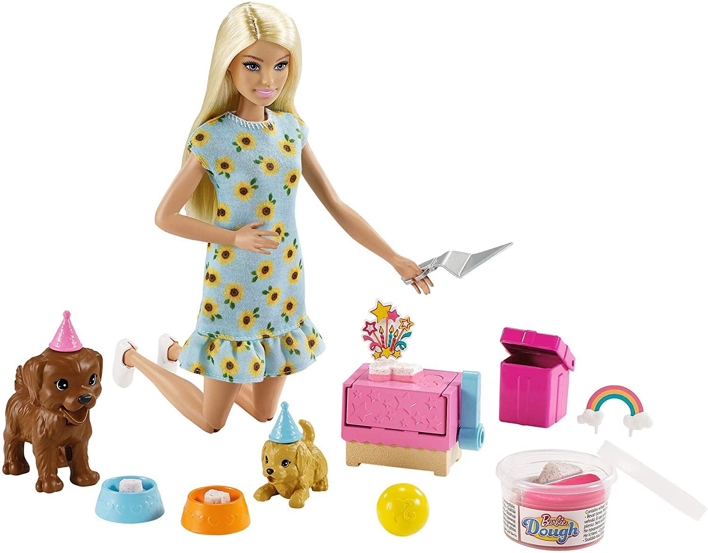 Barbie - Puppy Party - Blonde (GXV75)
