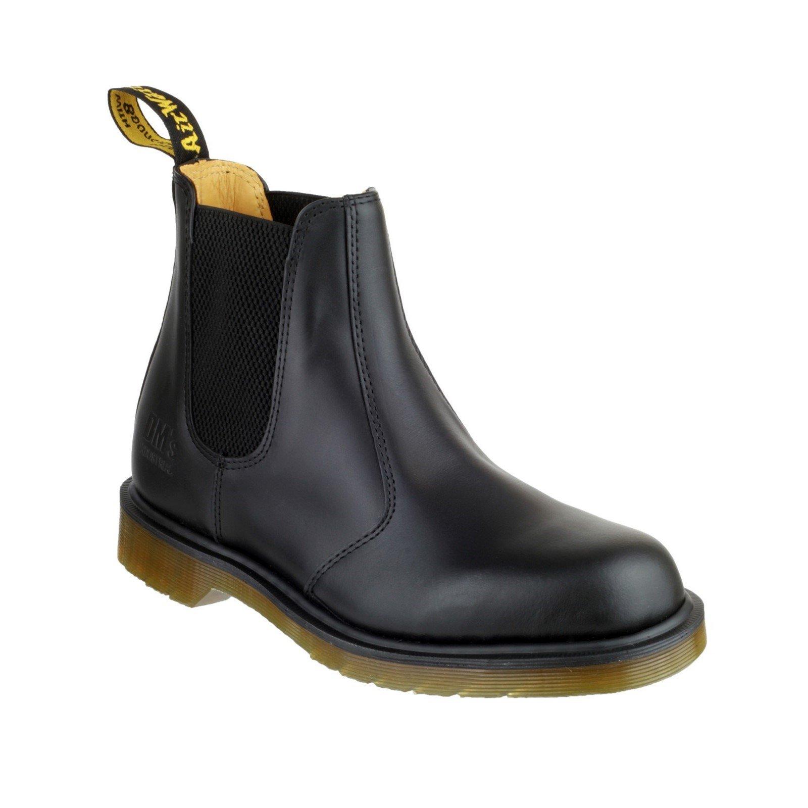 Dr Martens Men's Slip-On Dealer Boot Black 04916 - Black 10