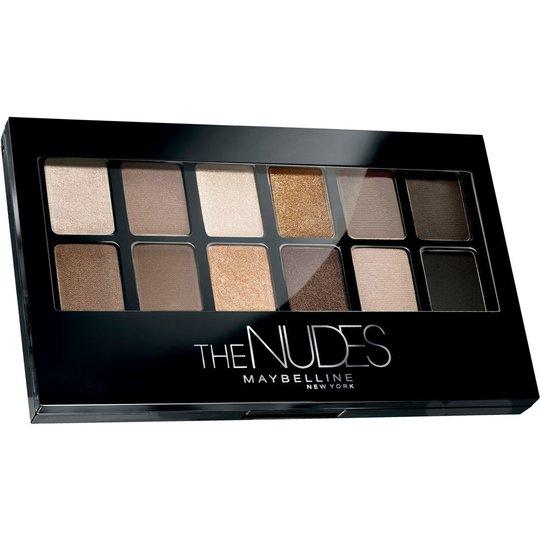 Maybelline Nude Palette Blushed Nudes, 6 g Maybelline Luomiväripaletit