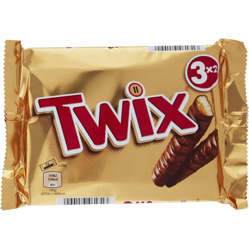Twix 3 x 50g - 53% alennus