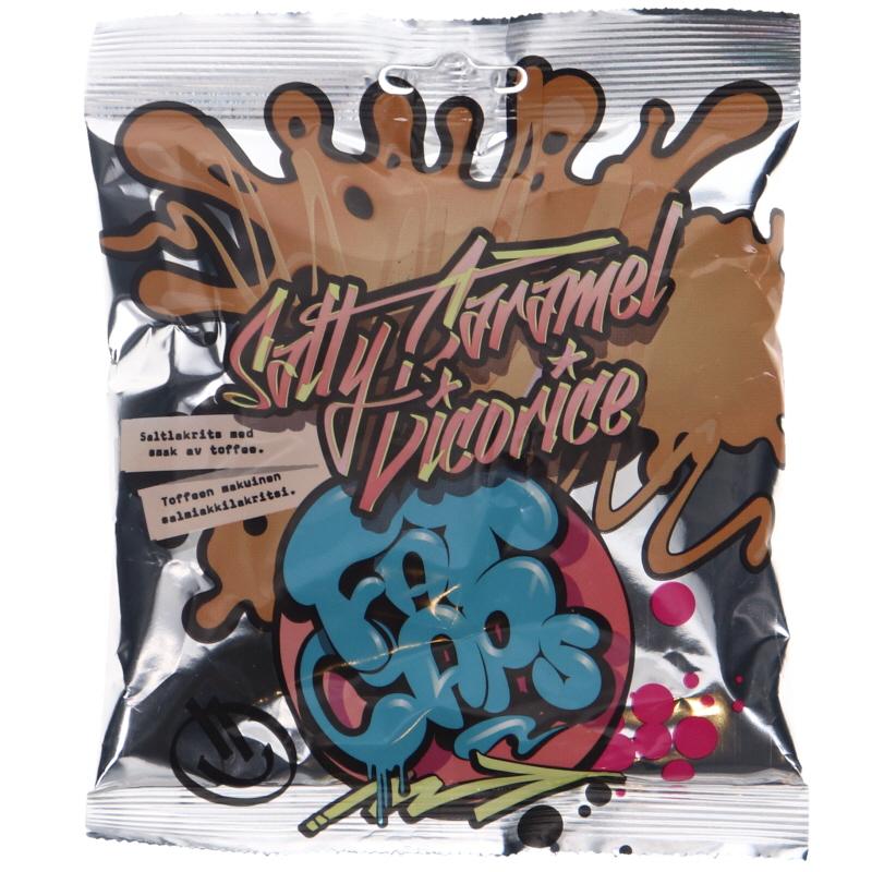 Salmiakkilakritsi Toffee - 45% alennus