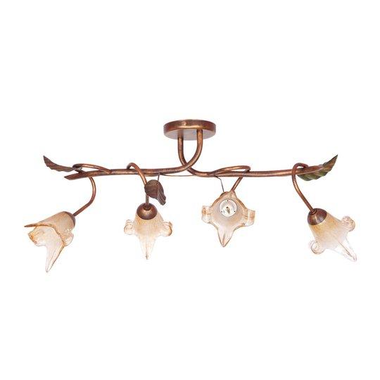 Siena taklampe florentiner-stil rett 4lk
