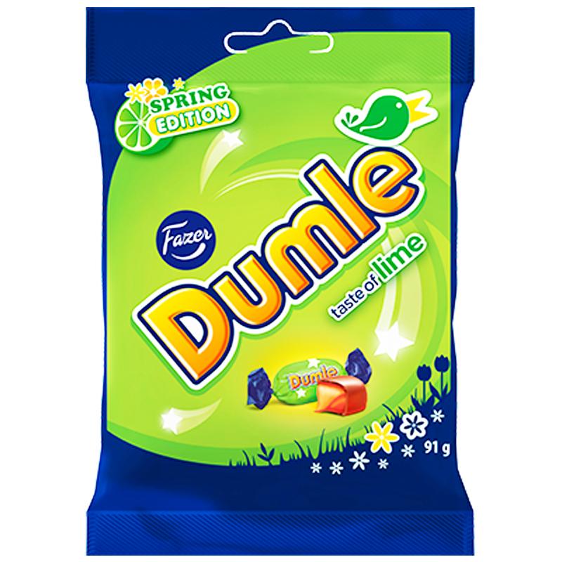 """Godis """"Dumle Spring"""" 91g - 44% rabatt"""