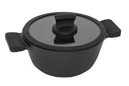 kasserolle 2,3L Ø 20cm, med lokk