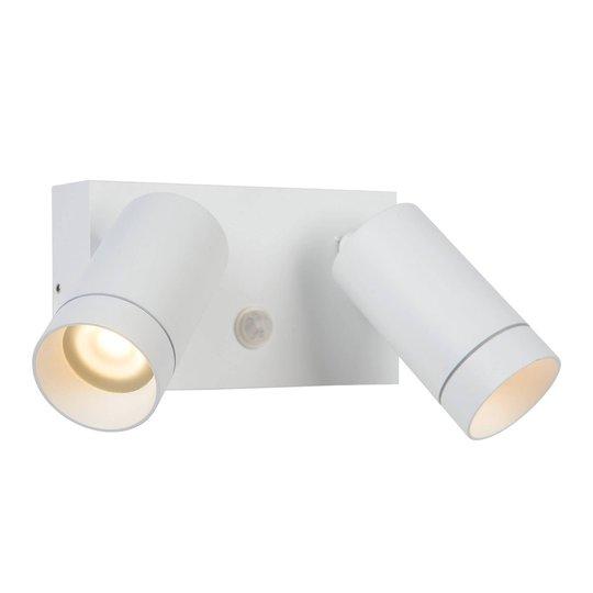 Utespot Taylor sensor, 2 lyskilde hvit