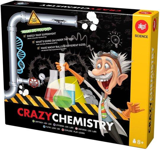 Alga Experiment Crazy Chemistry