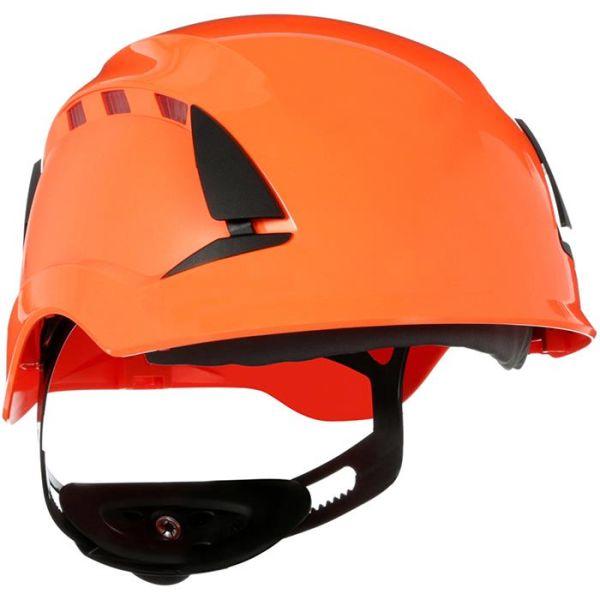 3M SecureFit X5507V Vernehjelm ventilert Oransje