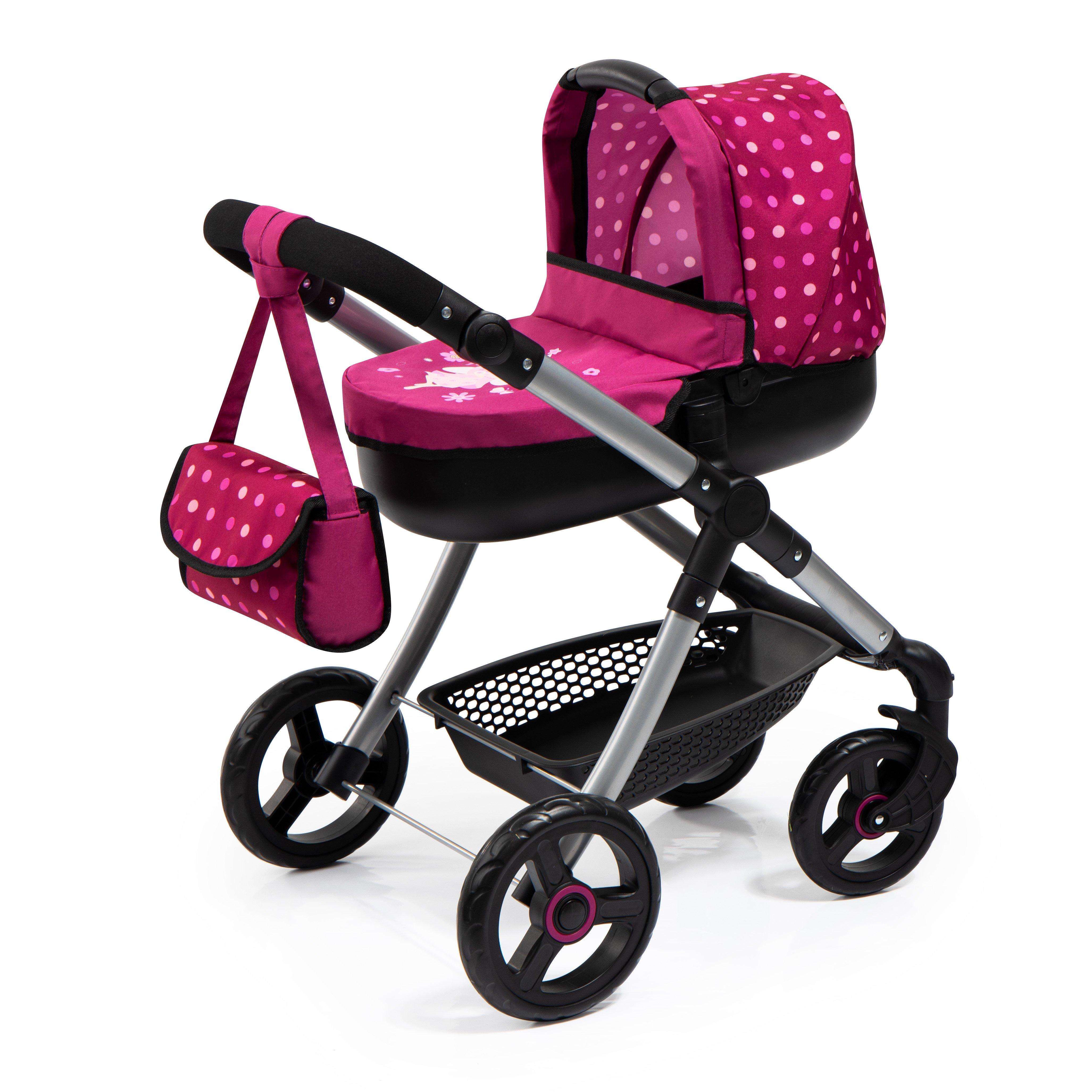 Bayer - Dolls Pram - Style - Pink (12667AA)