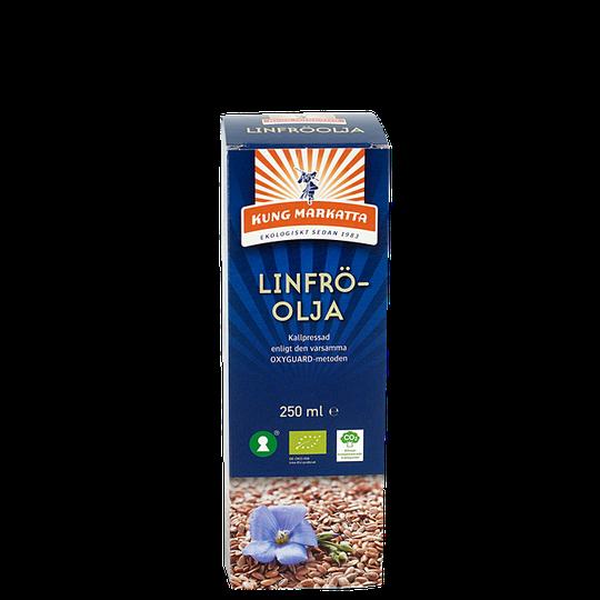 Linfröolja Kallpressad EKO, 250 ml