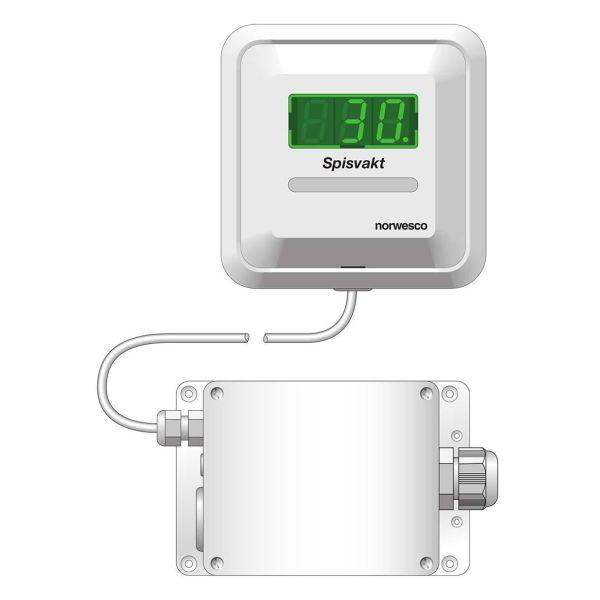 Norwesco 420260 Komfyrvakt for fast tilkobling 230 V, 25 A