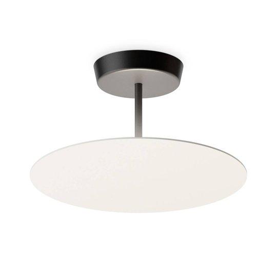 Vibia Flat LED-taklampe 1 lyskilde Ø 40 cm hvit
