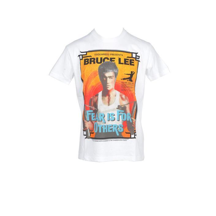 Dsquared Men's T-Shirt White 216021 - white XXL