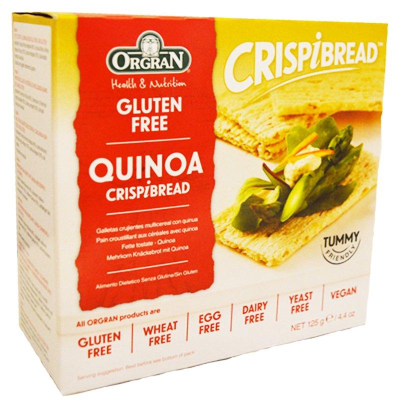 """Knäckebröd """"Quinoa"""" 125g - 62% rabatt"""